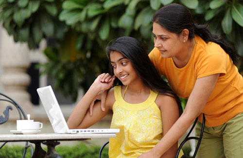 Indian Parent and Child
