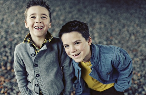 two younger boys